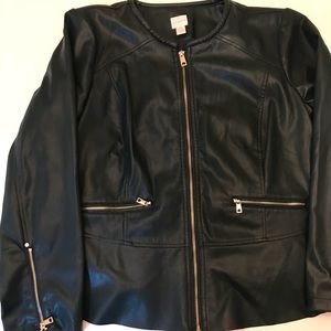 Forrest green Chicos jacket